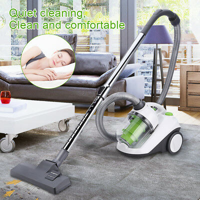 800W 2.2L Bagless Cyclonic Vacuum Cleaner Pet Car HEPA Cylinder Hoover Low Noise