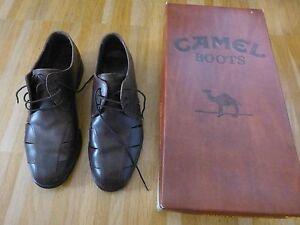 CAMEL-Boots-Trinidad-moro-Leder-Sommer-Halbschuhe-braun-Gr-6-6-5-40-40-5-TOP