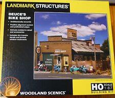 Woodland Scenics HO #5193 Deuce's Bike Shop (kit) We combine ship :)