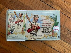 THICK-2019-Topps-Allen-amp-Ginter-HOBBY-Hot-Pack-Relic-Auto-Rip-Book-DNA