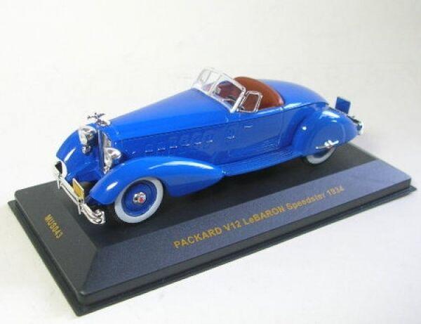 Packhard Packhard Packhard v12 LeBaron Speedster (azul) 1934 15d2be