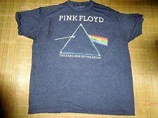 Pink Floyd Distressed Look 2XL  Mens Dark Grey T shirt  Hit Rock Band