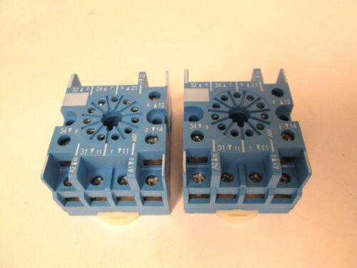 Finder 90.27 Rail Mount Relay Sockets 2