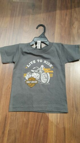 Harley-Davidson Garçons Colossal Live to Ride T-shirt 30292454 PROMOTION