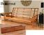 """kodiak queen 85"""" monterey futon frame & drawer set, 2 finishes. no mattress"""