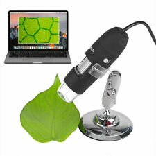 8led 1600x 10mp Usb Digital Microscope Endoscope Magnifier Camera With Stand