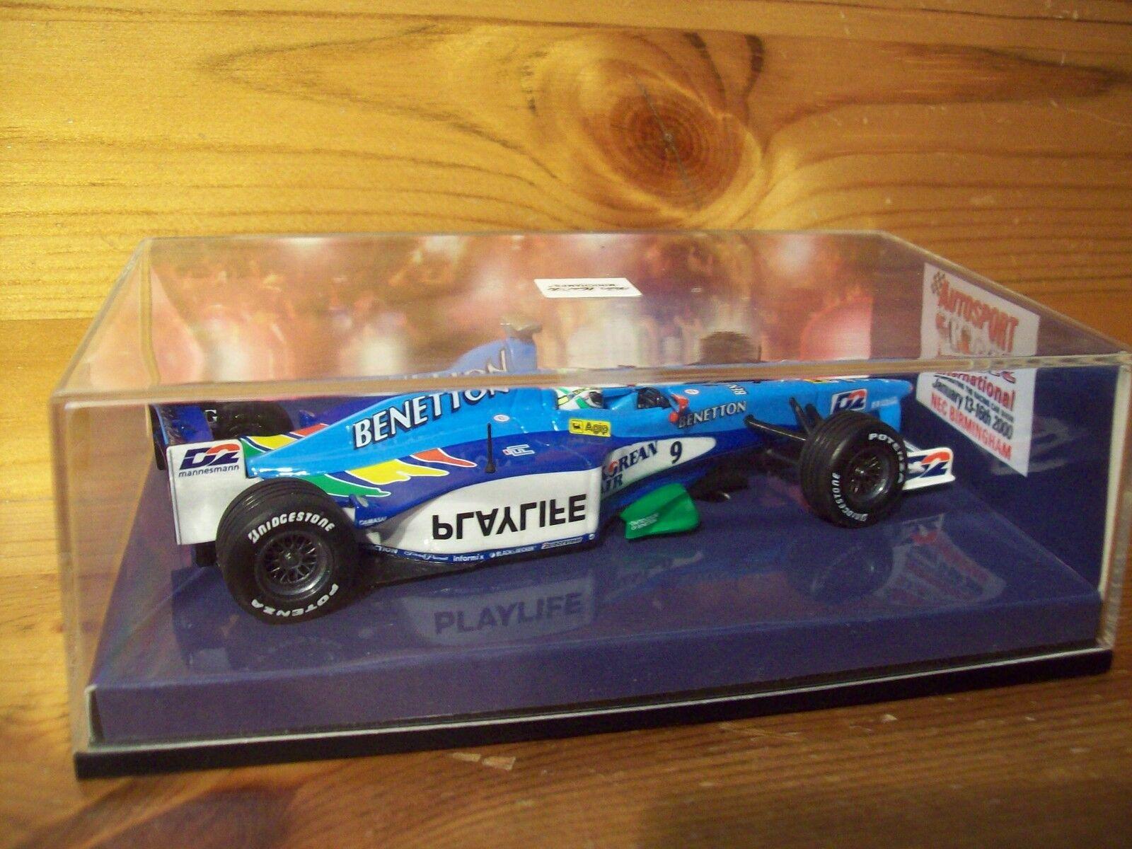 1 43 Benetton B199 1999 Giancarlo Fisichella 2000 AUTOSPORT Show Edition