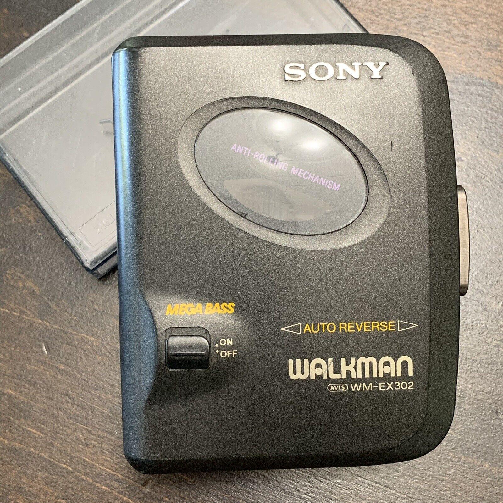 Sony WM-EX190 Walkman Stereo Cassette Player with Anti-Rolling Mechanism