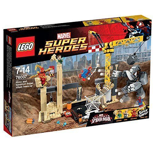 LEGO ® super heroes 76037 rhino et sandman-Alliance des super-voyous NEUF NEW
