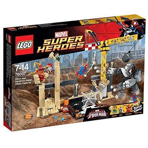 LEGO® Super Heroes 76037 Rhino und Sandman - Allianz der Superschurken NEU NEW
