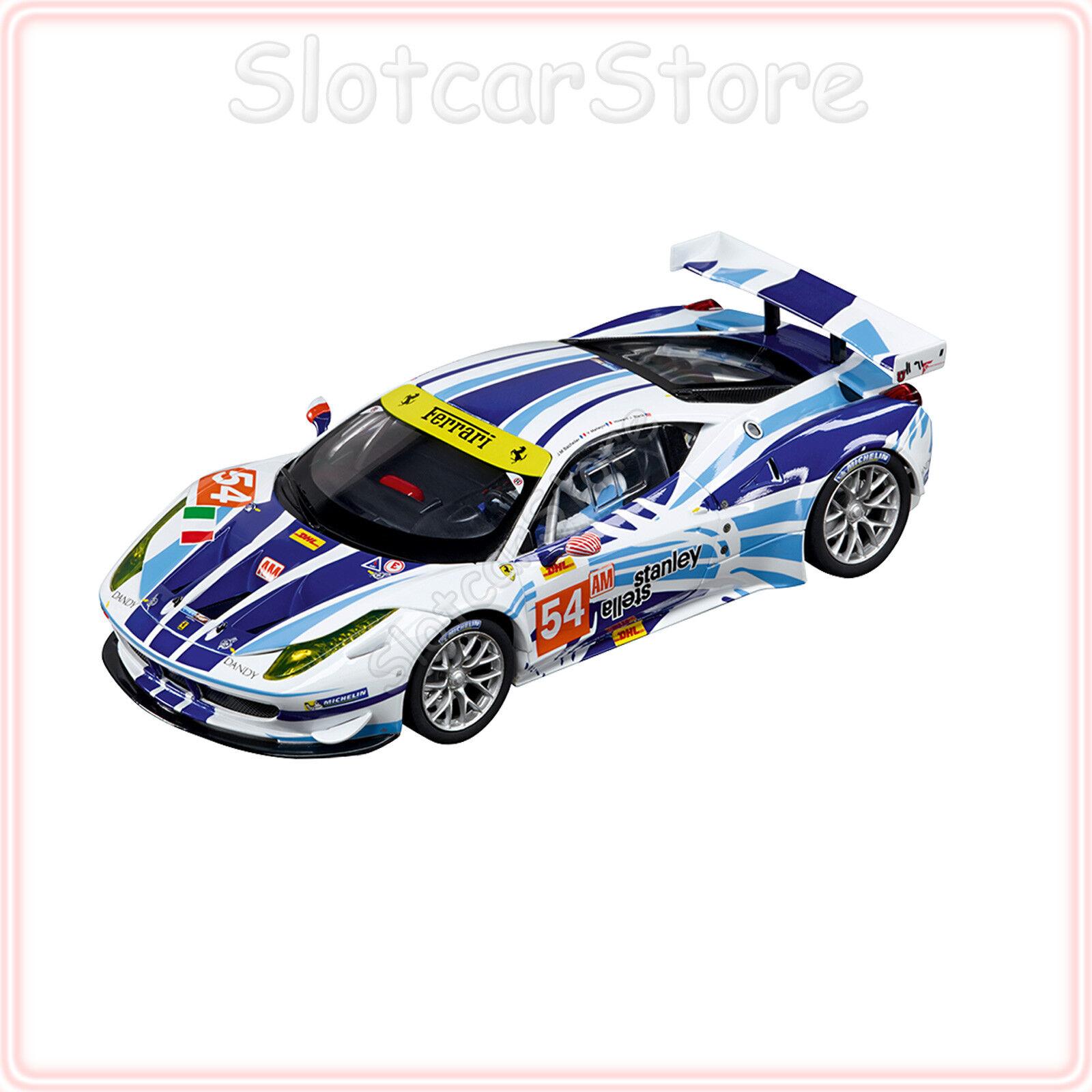 Carrera Evolution 27481 Ferrari 458 458 458 Italia GT2 AF Corse No.54 1 32 Slotcar Auto 182a92