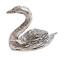 縮圖 1 - Swan Pewter Ornament - Hand Made in Cornwall
