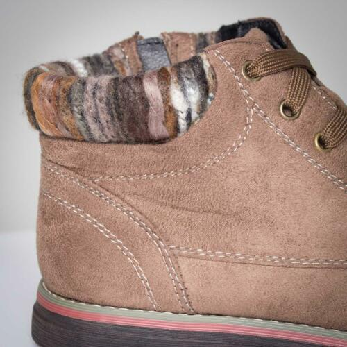 Lotus Sequoia Womens Ankle Boot Knitted Boot in Stone