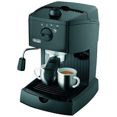 DeLonghi EC 146.B schwarze Espressomaschine Kaffeemaschine Aufschäumdüse 15 bar