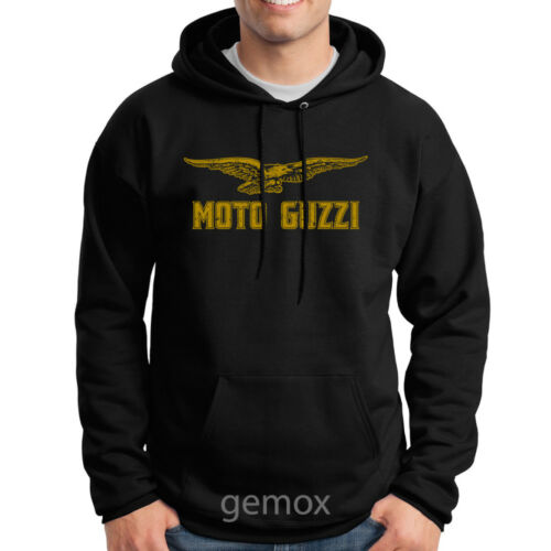 3XL Vintage Moto Guzzi Distressed Pullover Hoodie Sweater Sz S