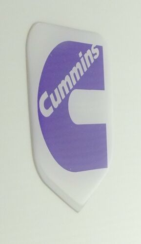 GRILLE EMBLEM fits DODGE RAM Cummins 1994-2002  White//Purple