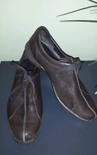 Womens PATAGONIA ADDIE TIE EXPRESSO leather tie up shoe. Size 7
