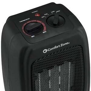 Small Space Heater Portable Ceramic Warming Fan Lightweight Dorm ...