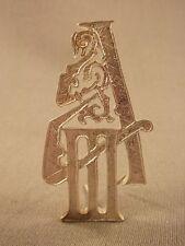 Zaristisches Russland Epaulettenauflage Alexander III, Epauletten Auflage Metall