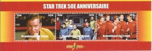 Chad-2016-Star-Trek-50th-Anniversary-3-Stamp-Strip-Kirk-Spock-3B-467