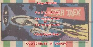 STAR-TREK-1974-TV-Show-STARSHIP-ENTERPRISE-POSTER-Not-Comic-Book-3SIZES-17-034-19-034