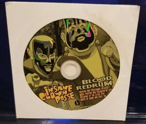 Insane Clown Posse - Blood Redrum Hallowicked 2006 CD rare twiztid dark lotus