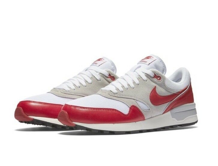 Nike Air Odyssey Men's Running Trainers Sneakers 10.5 652989-106 White Red Size 10.5 Sneakers ce4230