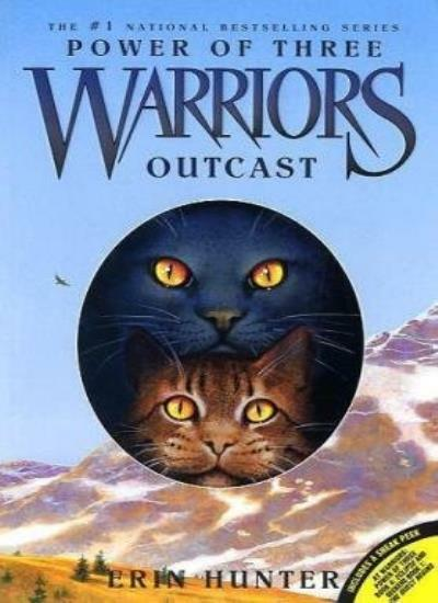 Warriors: Power of Three #3: Outcast (Warriors: Power of Three (Paperback)),Eri