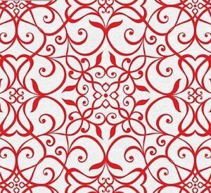 Benartex-Wrought-Iron-Red-Celestial-Lights-Fabric-Collection-by-Amanda-Murphy
