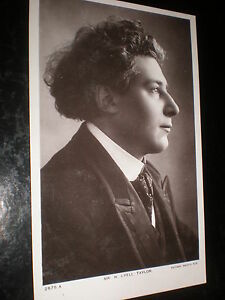 Old-postcard-music-orchestra-conductor-H-Lyell-Taylor-Rotary-Photographic-1900s