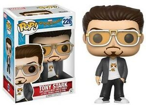 Funko Pop Marvel Spider Man Tony Stark Toy