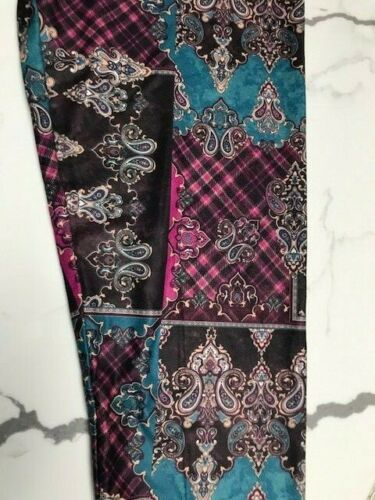 Charlie/'s Project Leggings CLOSEOUT FINAL SALE Patchwork TC2