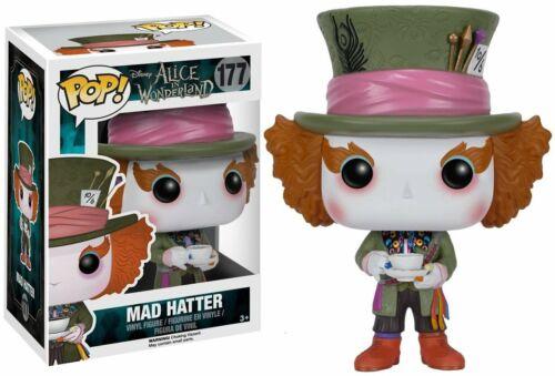 Disney Alice Wonderland Mad Hatter 177 Figurine En Vinyle NEUF /& EN STOCK UK Funko Pop