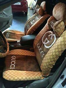 Image Is Loading GUCCI CAR SEAT COVER 18PCS SET