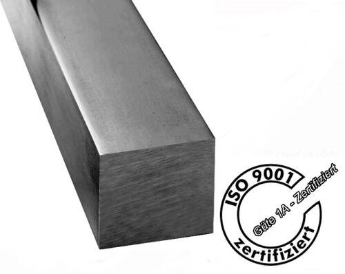 C45+C Vierkant 12//12-18//18 Zuschnitt 500mm Länge