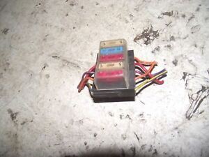 DAIHATSU FOURTRAK 2.8 SEL 1994 FUSE BLOCK | eBay on