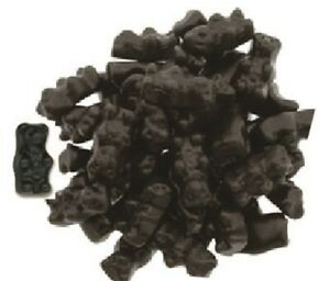 Gustaf's Sugar Free Black Licorice Bears, 2.2 lb. Bag Shipping Included