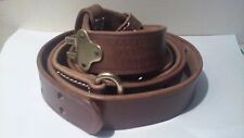 M1907 Leather Sling  M1 Garand Springfield Drum Dyed Leather