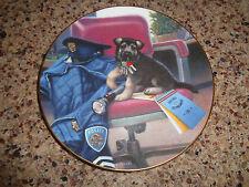 1994 Puppy Patrol - Police Officer - Hamilton Plate - Shepherd - Day's Work
