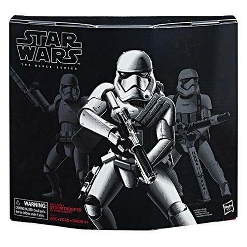 Star Wars The Black Series de premier ordre Stormtrooper avec Gear-Exclusive