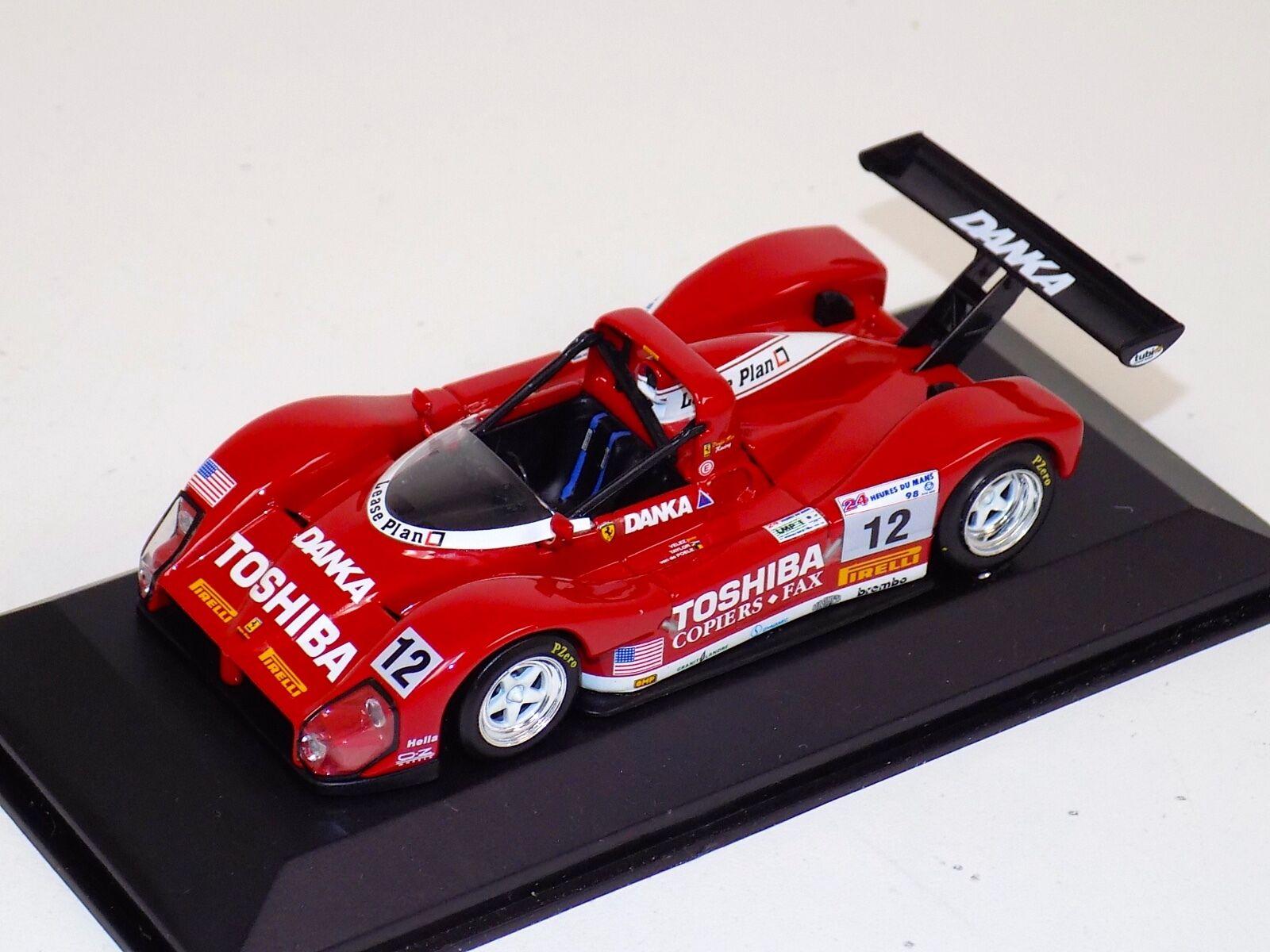 1 43 Minichamps Ferrari 333 SP voiture  12 Classe Gagnant de 1998 24 H de LEMANS