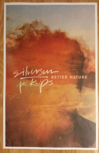 Music Poster Promo Silversun Pickups ~ Better Nature