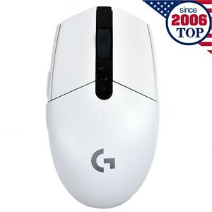 New White Logitech G304/G305 LIGHTSPEED Wireless Gaming Mouse 12000DPI 6-Button