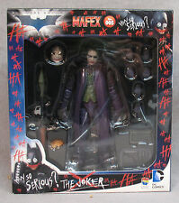 "Batman The Dark Knight Joker 6"" Action Figure - MAFEX - Medicom - Heath Ledger"