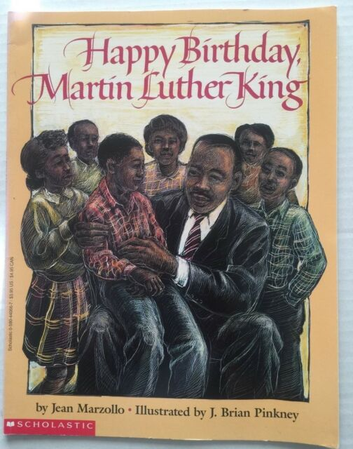 Happy Birthday Martin Luther King Childrens Picture Book ...