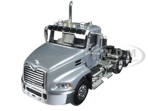 MACK PINNACLE DAY CAB TRUCK SILVER 1/64 DIECAST MODEL BY