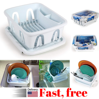 Small Dish Draying Rack Camco Rv Mini Drainer In Sink For Small Kitchen Camper 744890946207 Ebay