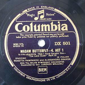 78-record-in-frame-MADAMA-BUTTERFLY-lo-t-ho-ghermita-stolta-paura