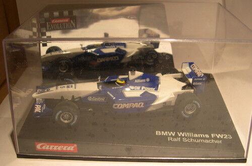 CARRERA EVOLUTION 25437 SLOT CAR WILLIAMS BMW F1 RALF SCHUMACHER MB
