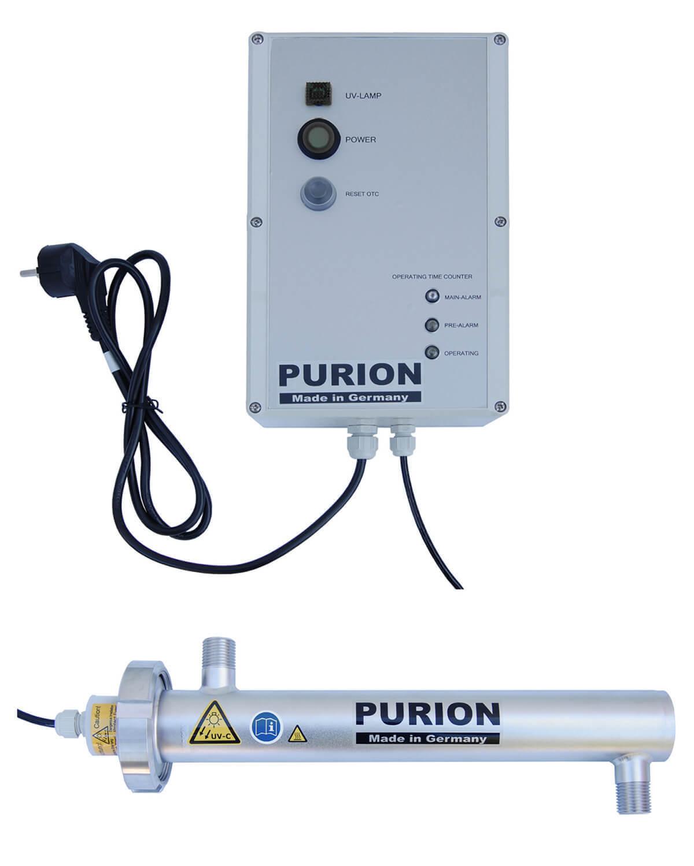 PURION 500 PRO mit Lampenlaufzeitmesser UV Desinfektion Kühlemulsionen